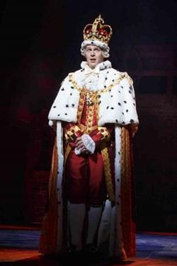 King George in 'Hamilton: An American Musical'