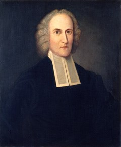 """Aaron Burr's grandfather, the """"fire and brimstone preacher"""" Jonathan Edwards"""