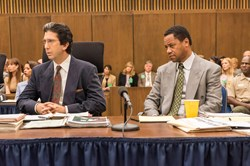 David Schwimmer and Cuba Gooding, Jr. in 'The People Vs. O.J. Simpson'