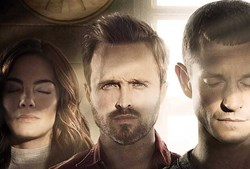 Michelle Monaghan, Aaron Paul, and Hugh Dancy in 'The Path'