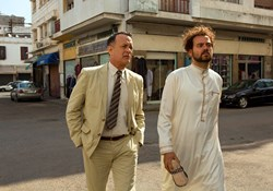Tom Hanks and Alexander Black in 'A Hologram For the King'