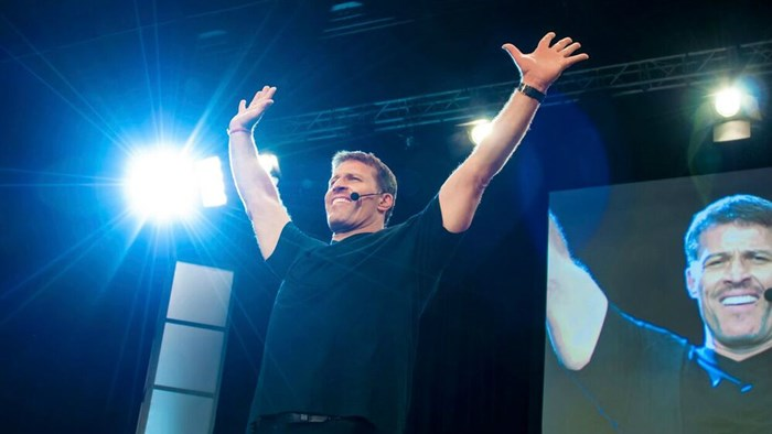 Has Tony Robbins Preached at My Church?