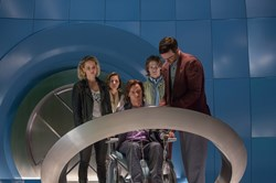 Jennifer Lawrence, Rose Byrne, James McAvoy, Lucas Till, and Nicholas Hoult in 'X-Men: Apocalypse'