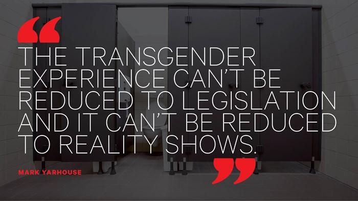 Transgender Confusion Goes Beyond Elementary School Bathrooms