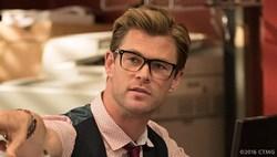 Chris Hemsworth in 'Ghostbusters'