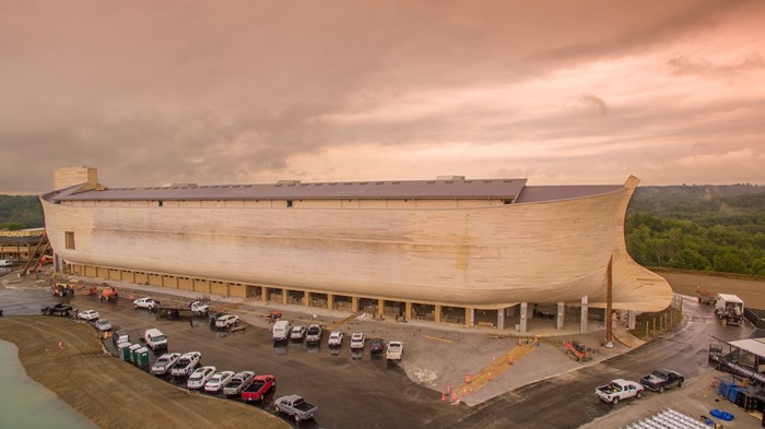 My Encounter with Ken Ham's Giant Ark