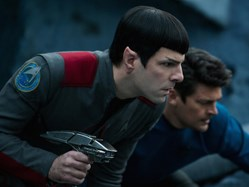 Zachary Quinto and Karl Urban in 'Star Trek Beyond'