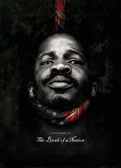 Nate Parker on the poster for 'The Birth of a Nation'
