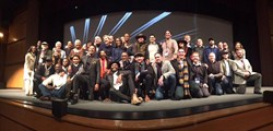 The cast and crew of 'The Birth of a Nation' at the film's Sundance premiere in January 2016