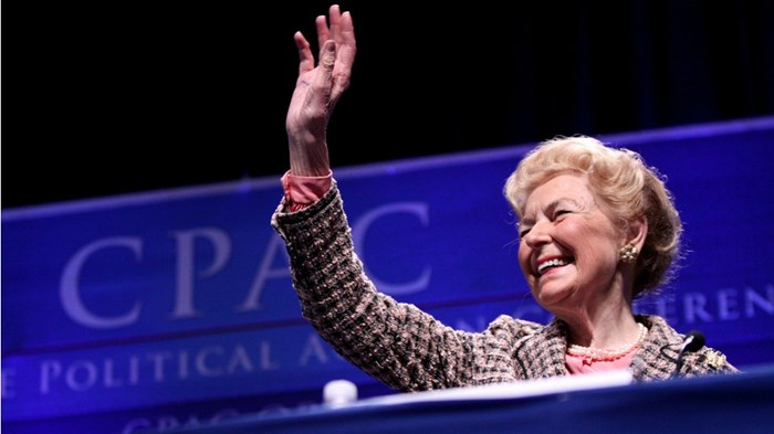 Phyllis Schlafly Defended Women Like Me