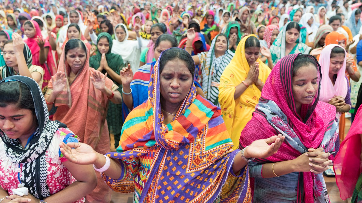 Indian christian women