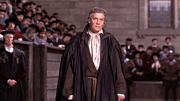 articles/essay a man for all seasons Off stage paul scofield as more and robert shaw as henry viii in a man for all seasons, adapted from robert bolt's play photograph: kobal.