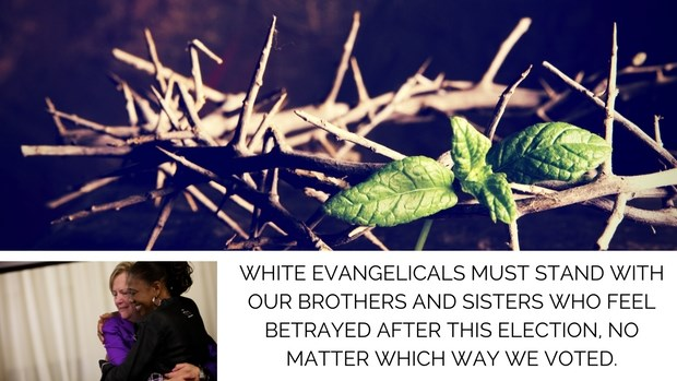 What Do White Evangelicals Owe People of Color in Trump's America They Helped Create?