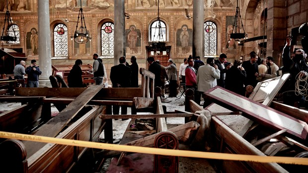 Bombing of Cairo Church's Sunday Service Kills Dozens on Muhammad's Birthday