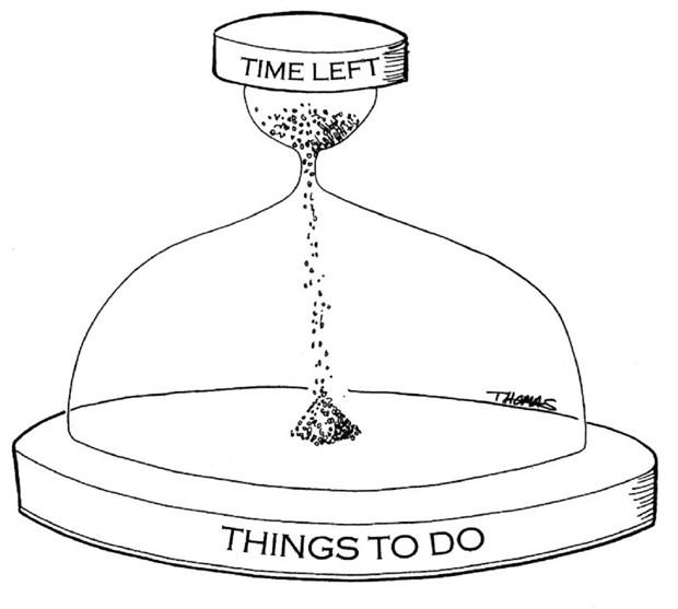 Like Sand through the Hourglass...