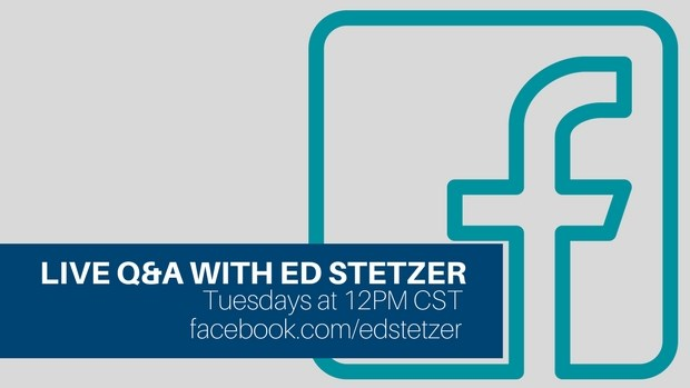 A New Q&A on Facebook: Join Me Each Tuesday at Noon CST