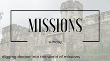 Missions Sunday: Co-Mission: The Sharing Economy & The Mission World