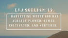 When Evangelism Really Isn't That Hard