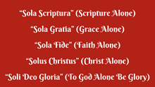 "What are these ""Five Solas"" and Why Do They Even Matter? An Interview with College Church Pastor Josh Moody"