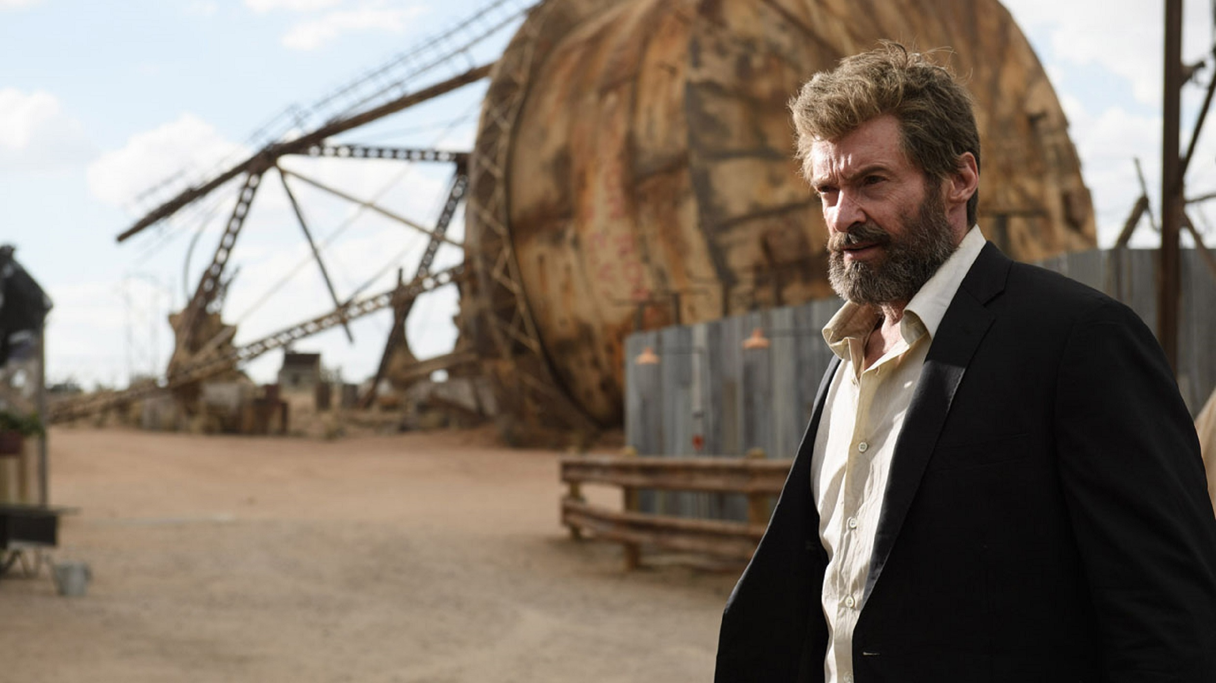 Watch Hugh Jackman grunt, groan, and scream in hilarious behind-the-scenes Logan clip