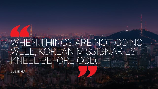 The Rise and Struggle of South Korean Missionaries