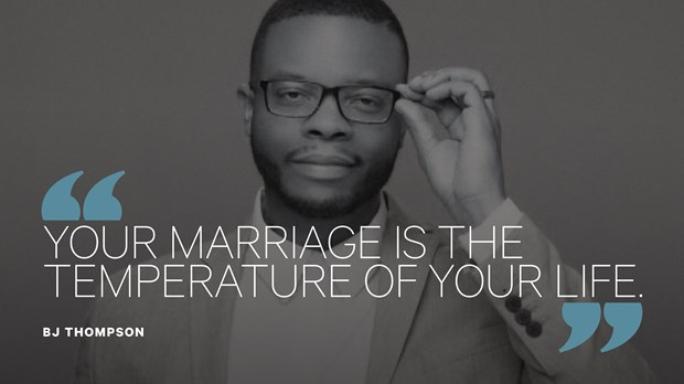 How BJ Thompson Shoulders the Burdens of Other People's Marriages