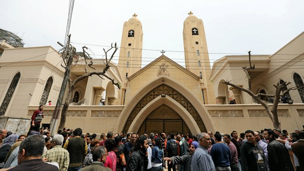 ISIS Church Bombings Kill Dozens at Palm Sunday Services in Egypt