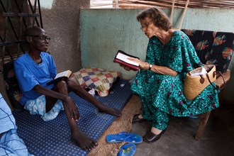 Wycliffe's Ruth Mueller in Central African Republic