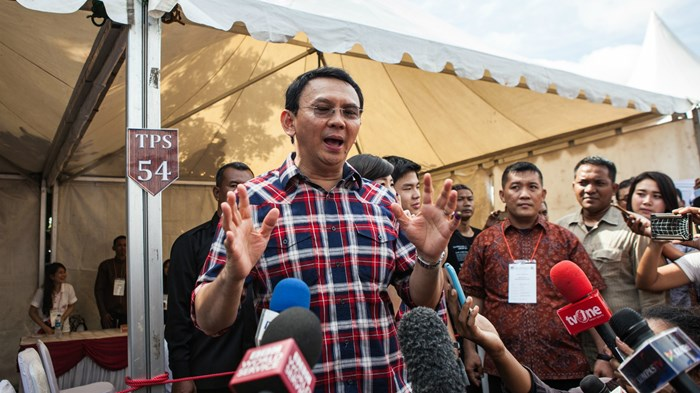 Blasphemy Blocks Re-Election of Indonesia's Top Christian Politician