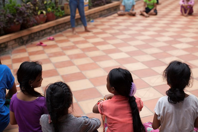 "About 25 tweens and teens live at the Pleroma Home for Girls in Phnom Penh. ""I have sisters here; they are my family,"" a 15-year-old said through a translator. ""God helped me when I had no hope. He has shown me who I am. I'm a daughter, who is special and important to him."""