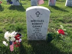 The gravesite of Michael Robert Gehrz, HM3, US Navy (1981-2014)