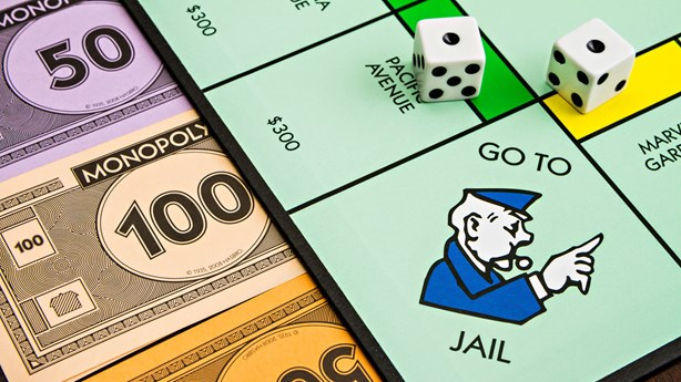 Man Attempts to Escape Arrest with Monopoly Playing Card