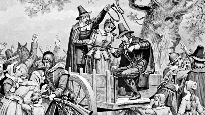 an analysis of the connection between the witch hunts and the christian church Has norton identified the cause of the salem witch trials i don't think she would claim to have done that, nor does her evidence bear it out.