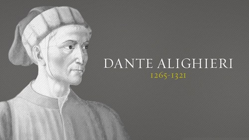 a biography of dante alighieri and influential poet in early literature Dante alighieri durante degli alighieri, simply referred to as dante, was a major italian poet of the middle ages update this biography » complete biography of dante alighieri .