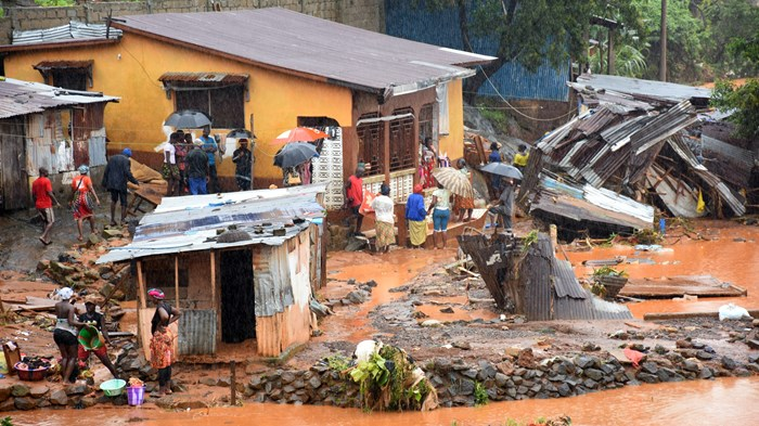 Prayer Vigil Buried by Sierra Leone Mudslide That Killed 1,000