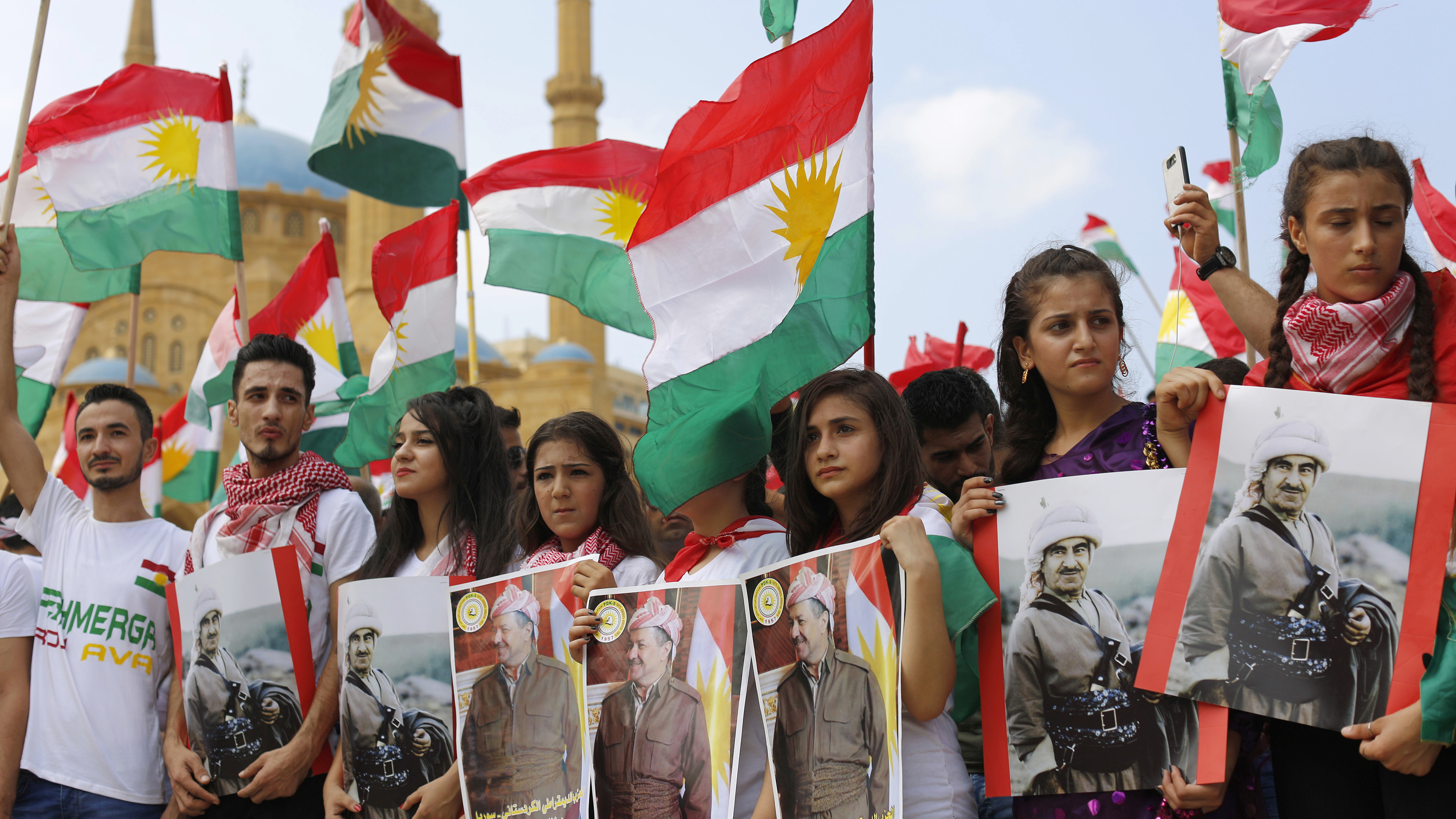 Syrian Kurds vote as part of move toward federal system