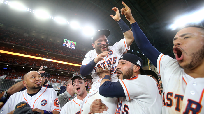 Astros Pastor: 'You're Playing for the Lord'