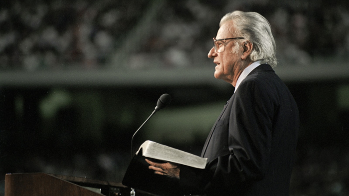 33% of Protestant Churchgoers Don't Know Billy Graham's Ministry