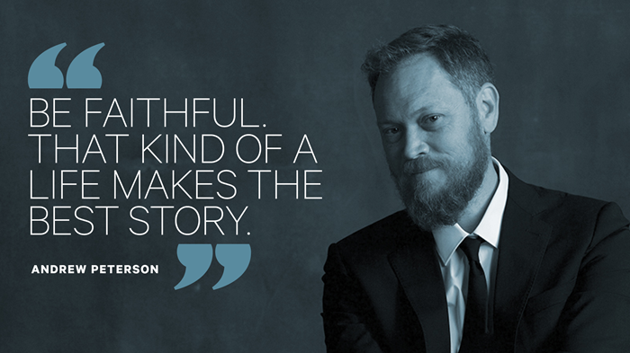 For Andrew Peterson, Creating Art Means Facing His Fear of Being Known