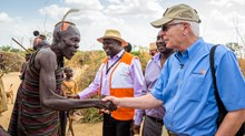 Richard Stearns Is Leaving World Vision