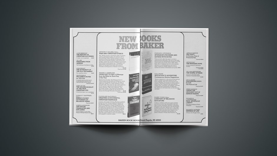 Book Briefs: September 12, 1975