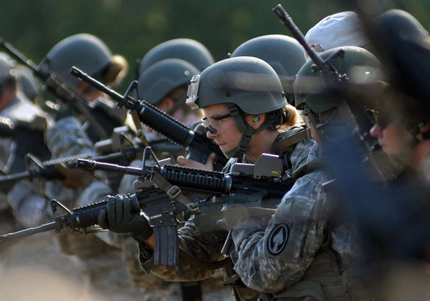 Female Heroes in a New Kind of Combat