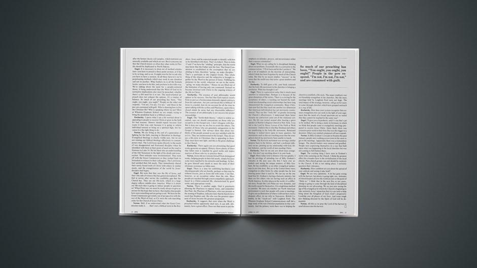 Effective Evangelism: A Matter of Marketing?