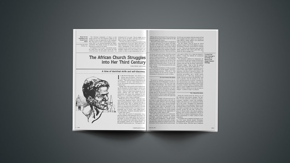 The African Church Struggles into Her Third Century: Change Is the Crucial Word