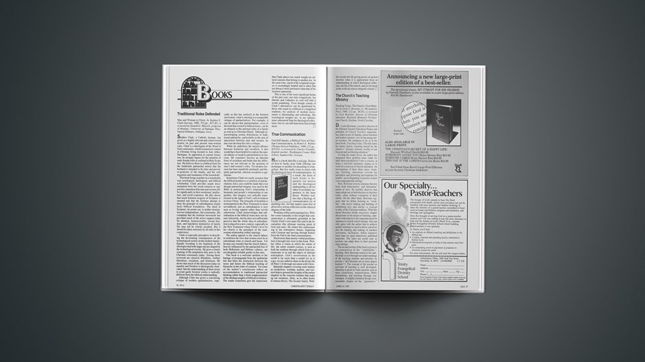 Book Briefs: April 24, 1981