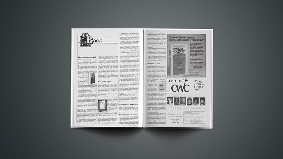 Book Briefs: August 7, 1981