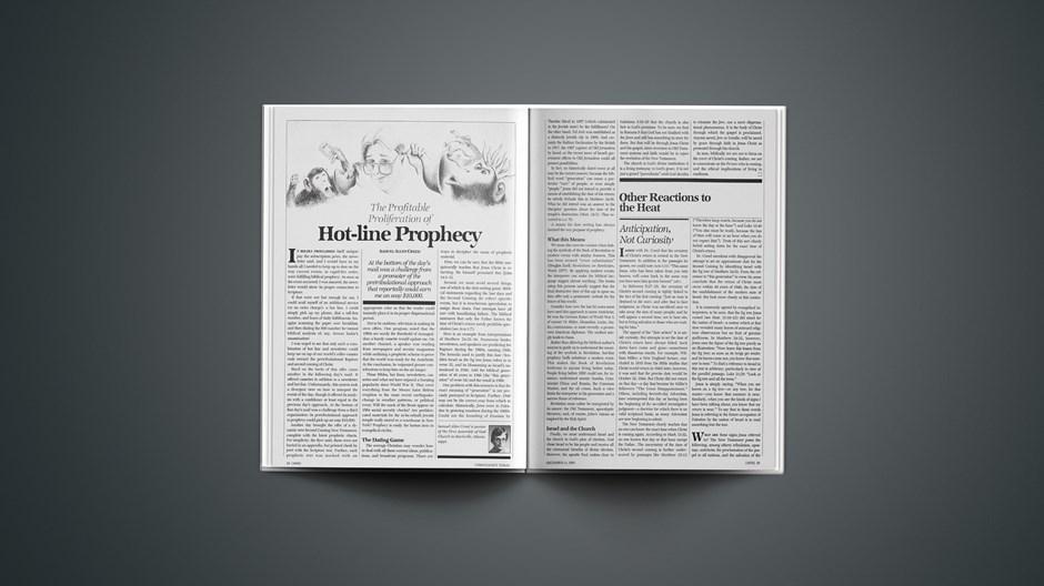 The Profitable Proliferation Hot-line Prophecy
