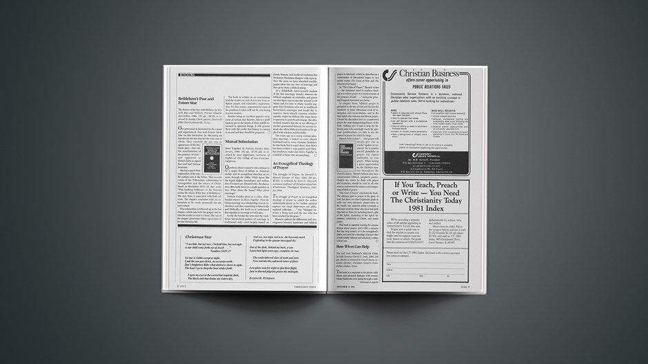 Book Briefs: December 11, 1981