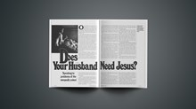 Does Your Husband Need Jesus?