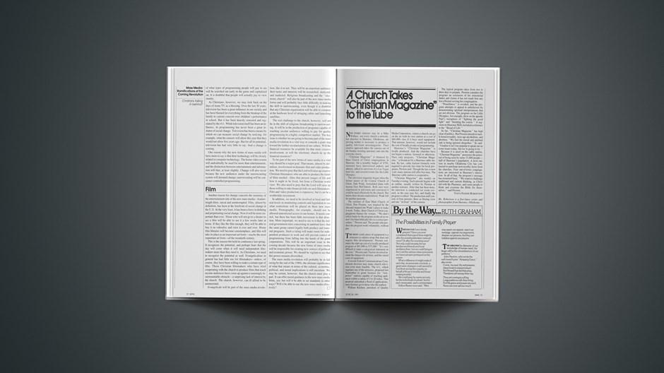 "A Church Takes ""Christian Magazine"" to the Tube"